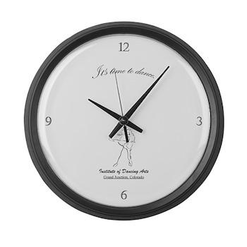 IDA Logo Large Wall Clock