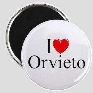 """""""I Love (Heart) Orvieto"""" Magnet"""
