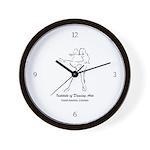 IDA Logo Wall Clock