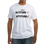 *New Design* Attitude-Check! Fitted T-Shirt
