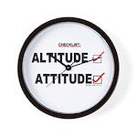*New Design* Attitude-Check! Wall Clock