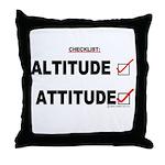 *New Design* Attitude-Check! Throw Pillow