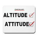 *New Design* Attitude-Check! Mousepad