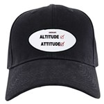 *New Design* Attitude-Check! Black Cap