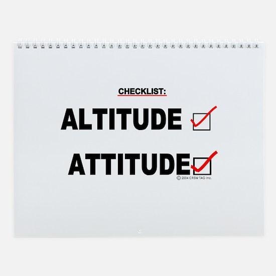 *New Design* Attitude-Check! Wall Calendar