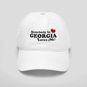 Somebody in Georgia Loves Me Cap