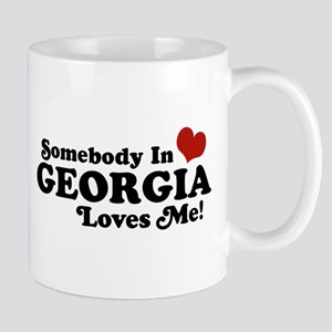 Somebody in Georgia Loves Me Mug