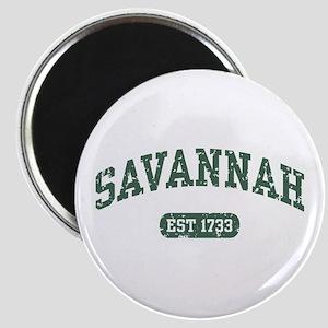 Savannah Est 1733 Magnet
