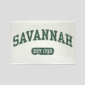 Savannah Est 1733 Rectangle Magnet