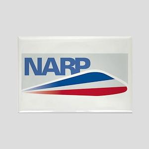 NARP Logo Rectangle Magnet