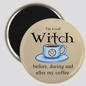 Coffee Witch Magnet