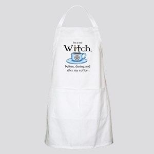 Coffee Witch BBQ Apron