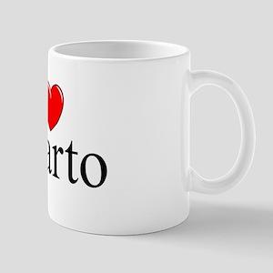 """""""I Love (Heart) Quarto"""" Mug"""