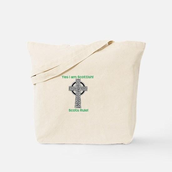 Yes I am Scottish! Tote Bag