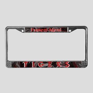 FM Tigers License Plate Frame