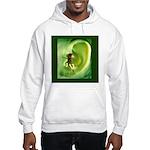 Go Green Fairy Spreads the Wo Hooded Sweatshirt