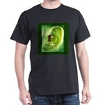 Go Green Fairy Spreads the Wo Dark T-Shirt
