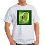 Go Green Fairy Spreads the Wo Light T-Shirt