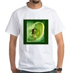 Go Green Fairy Spreads the Wo White T-Shirt