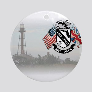 Sanibel Lighthouse Ornament (Round)