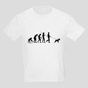 Schnauzer Evolution Kids Light T-Shirt