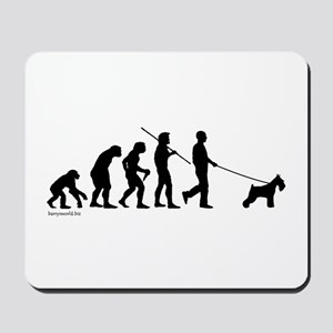 Schnauzer Evolution Mousepad