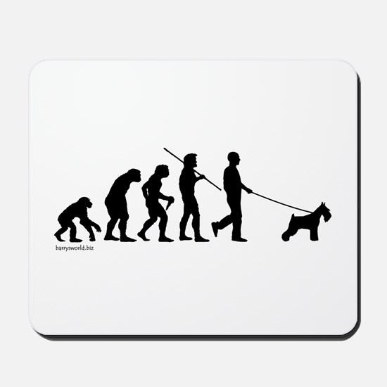 Schnauzer Evolution Mousepad