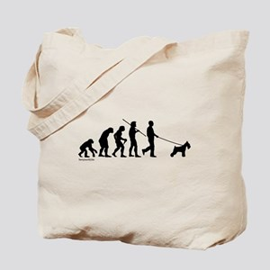 Schnauzer Evolution Tote Bag