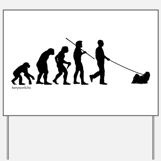 Lhasa Evolution Yard Sign