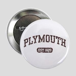 """Plymouth Est 1620 2.25"""" Button"""