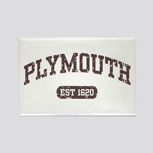 Plymouth Est 1620 Rectangle Magnet