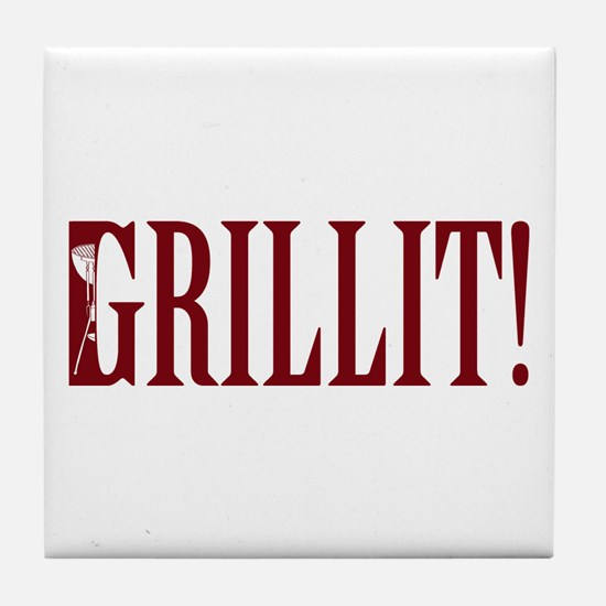 Grillit! Tile Coaster