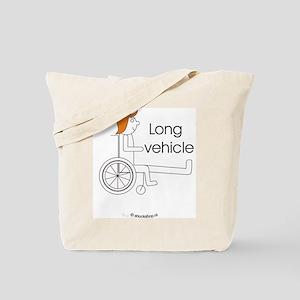 Long vehicle Tote Bag
