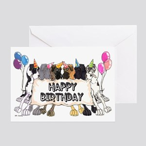N6 Happy Bday Greeting Card
