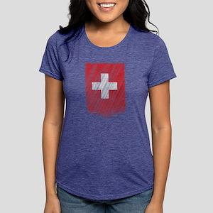 Swiss Flag Shirt Switzerland Flag T shirt T-Shirt