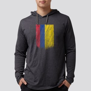Colombian Flag Shirt Colombia Long Sleeve T-Shirt