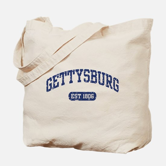Gettysburg Est 1806 Tote Bag