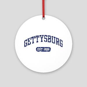 Gettysburg Est 1806 Ornament (Round)