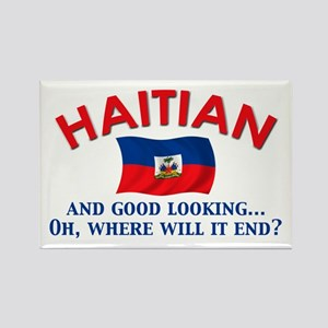 Good Looking Haitian Rectangle Magnet