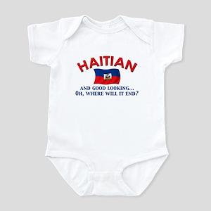Good Looking Haitian Infant Bodysuit