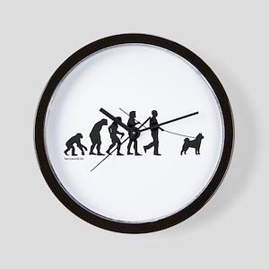 Akita Evolution Wall Clock