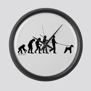 Airedale Evolution Large Wall Clock