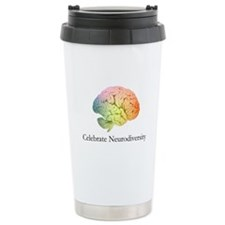 Celebrate Neurodiversit Stainless Steel Travel Mug