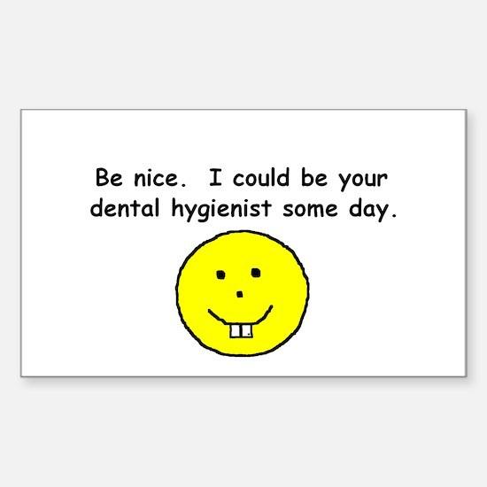 Dental hygienist Rectangle Decal