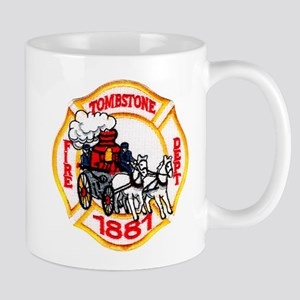 Tombstone Fire Department Mug