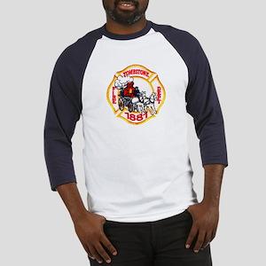 Tombstone Fire Department Baseball Jersey
