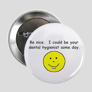 Dental Hygienist Button