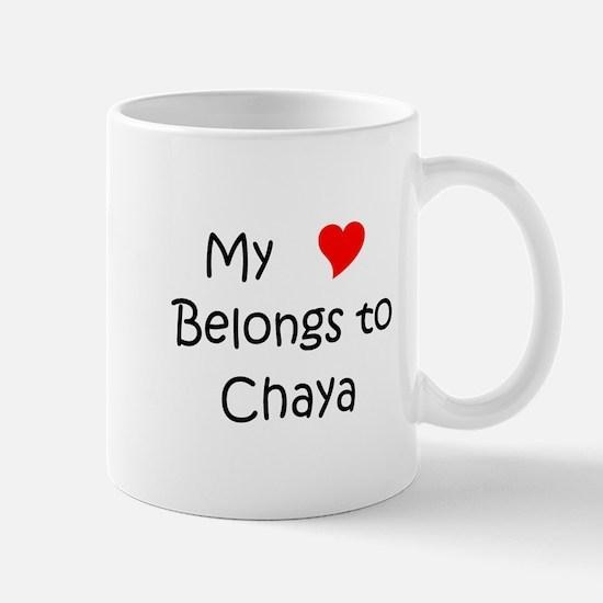 Funny Chaya Mug