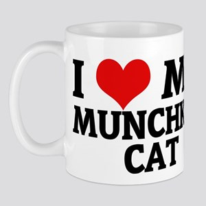 I Love My Munchkin Cat Mug