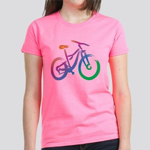 Vivid Mountain Bike Women's Dark T-Shirt